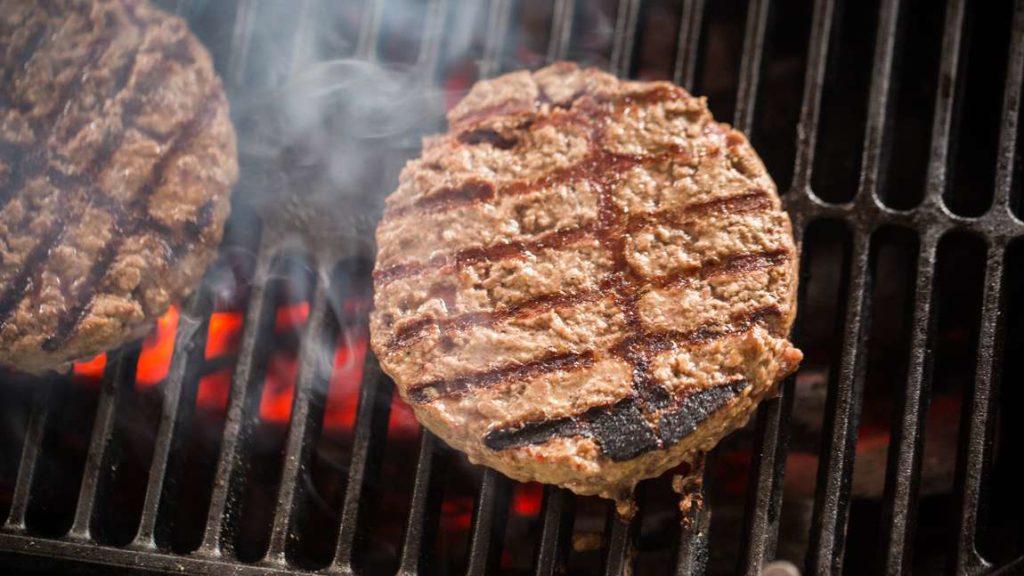 Sous vide hamburgery
