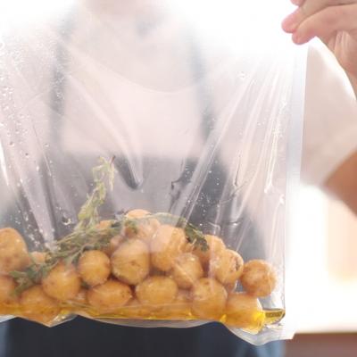 Sous vide brambory a pórek