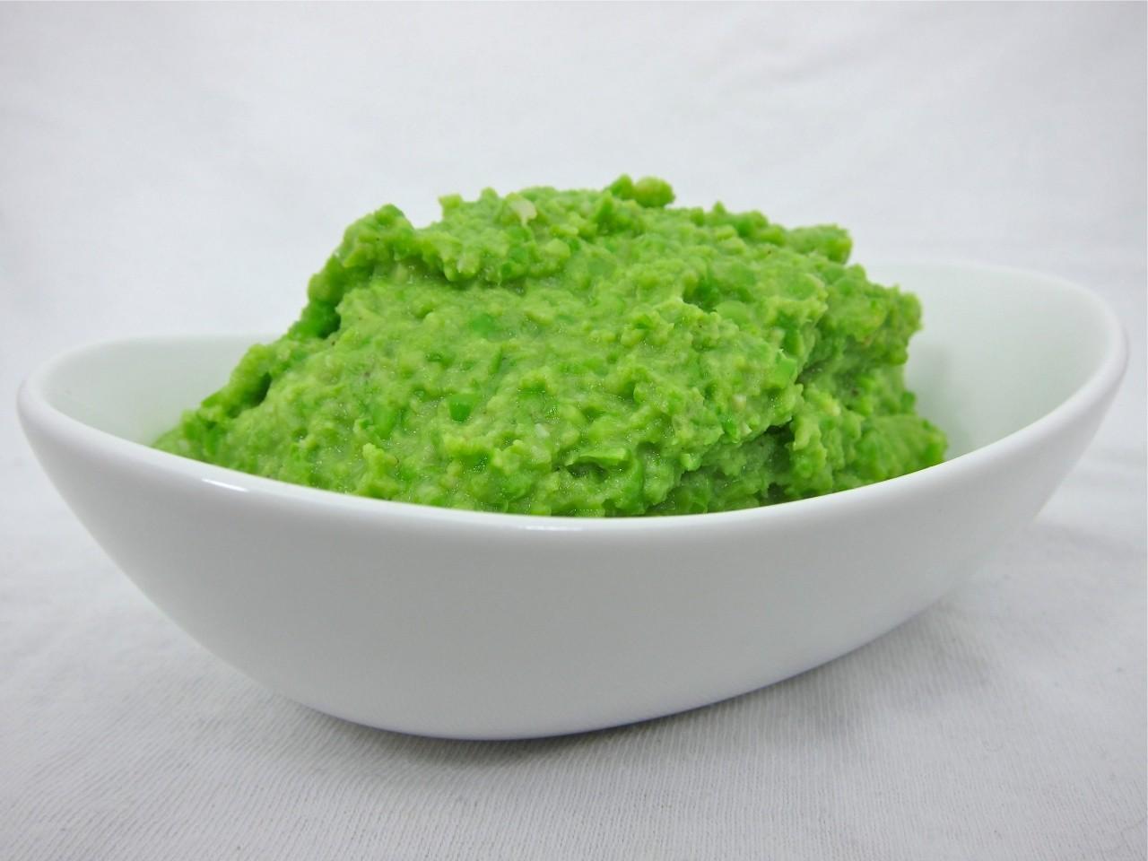 Kaše ze zeleného hrášku