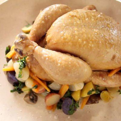 Sous vide kuře připravované vcelku