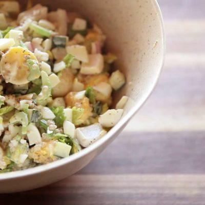 Sous vide bramborový salát