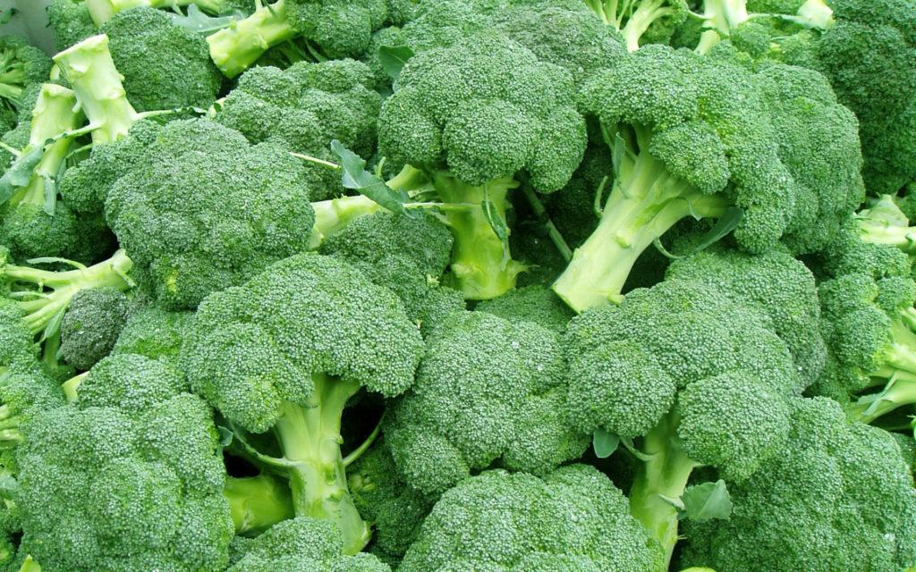 Brokolice je velmi zdravá.