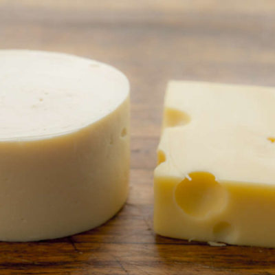 Sous vide švýcarský sýr