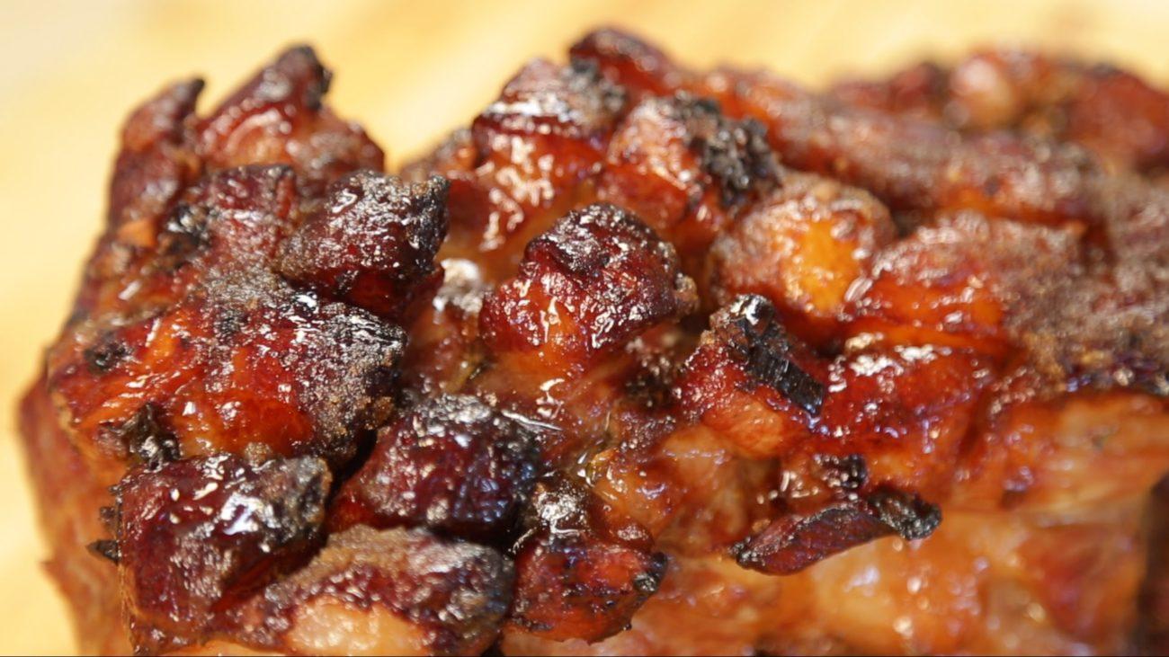 Vepřová pečeně v pálivém medovo-hořčičném zábalu