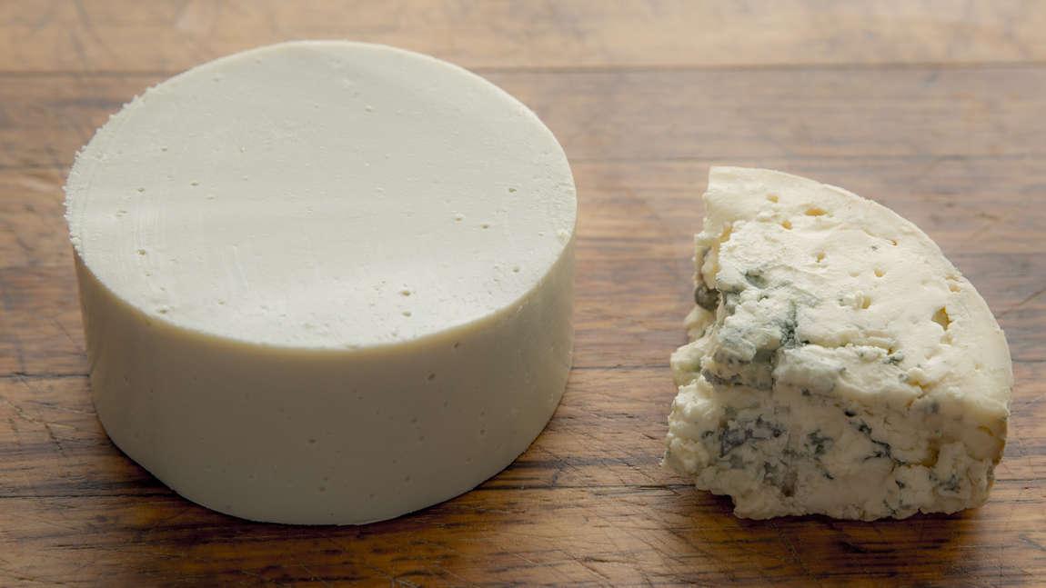Sous vide modrý sýr
