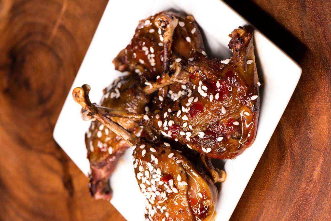 Pálivá kachní stehýnka s exotickým nádechem