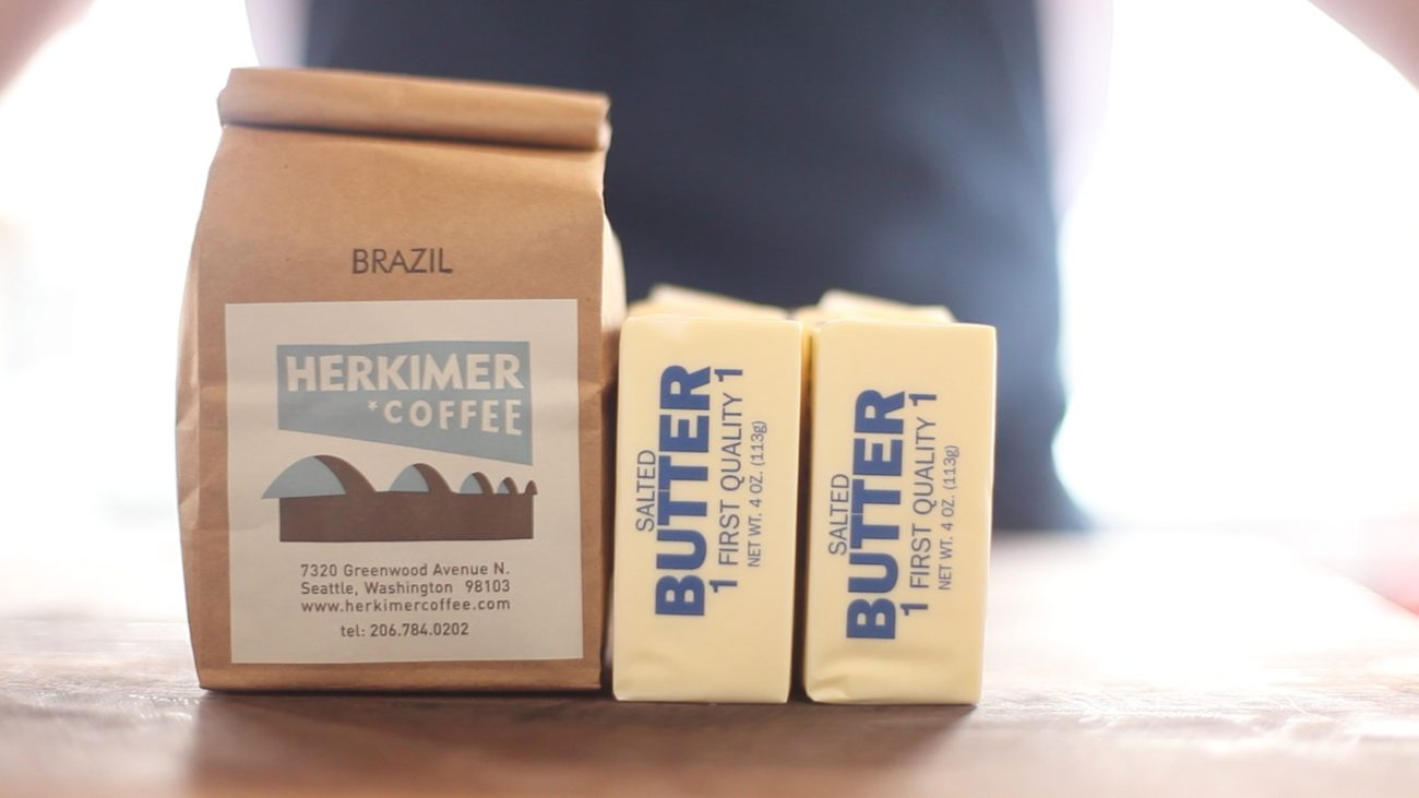 Kávové máslo
