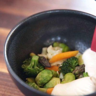 Nadýchaná zálivka na zeleninu