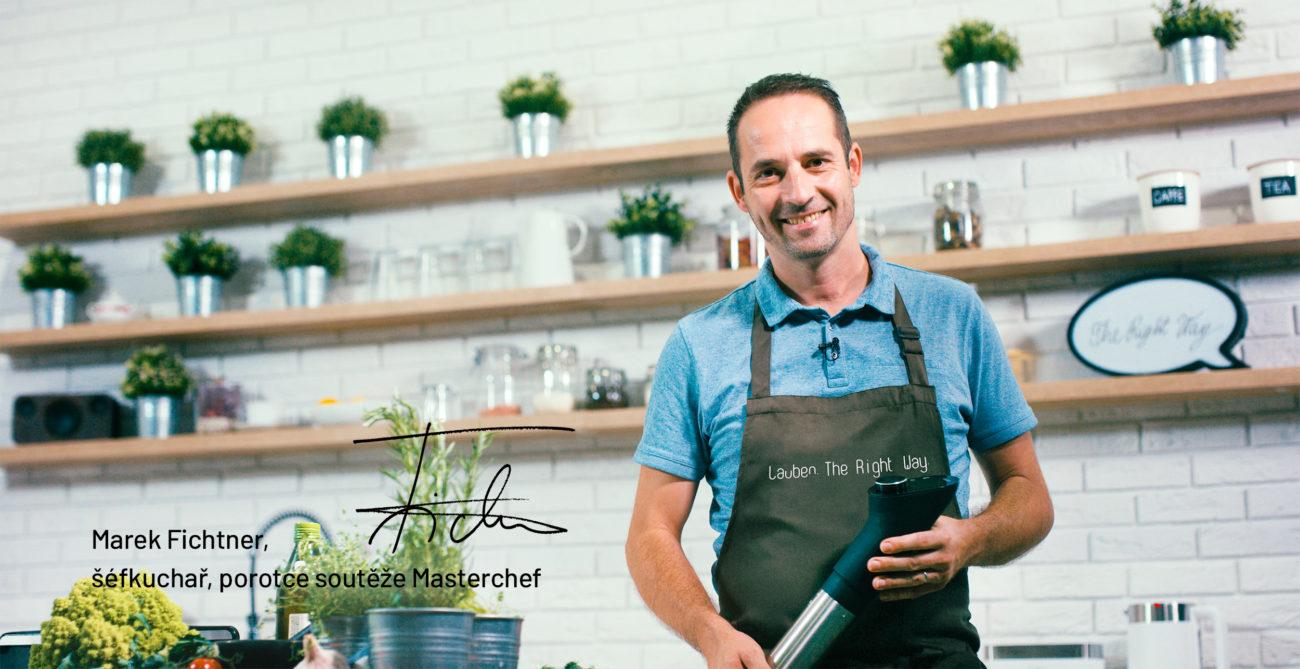 I doma lze vařit sLauben Sous Vide Stick jako vmichelinské restauraci