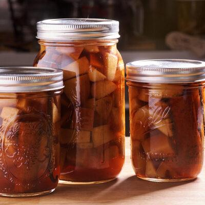 horký nápoj jablečný koláč