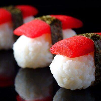 rajčatové sushi