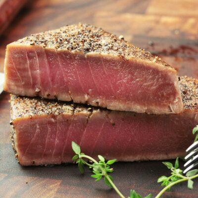 steak z tuňáka sous-vide