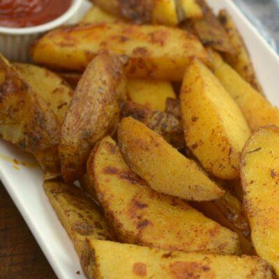 americké brambory sous-vide