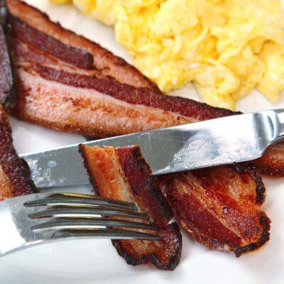 sous vide slanina