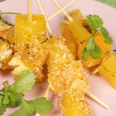 ananasové špízy