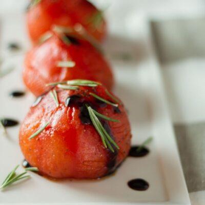 konfitované rajče sous-vide