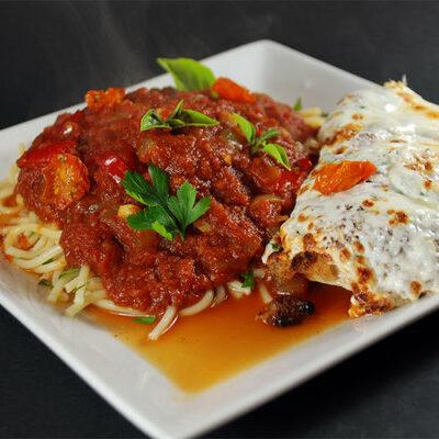 kuřecí parmigiana